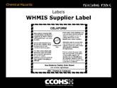 WHMIS Supplier Label