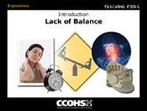 Lack of Balance