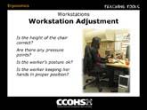 Workstation Adjustment
